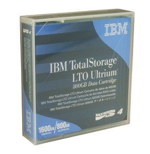 Tape LTO Ultrium-4 800GB/1600GB 20/PK by IBM