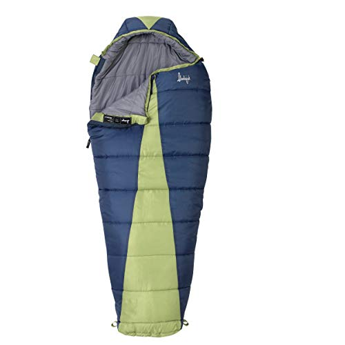(MISC Blue 0Degree Sleeping Bag for Adults 0 Degree Sleep Bag Coldweather 0c Sleepingbag Warm Women Camping Outdoors, Synthetic)