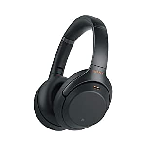 Sony Over-Ear Headphones, Black (WH1000XM3B)