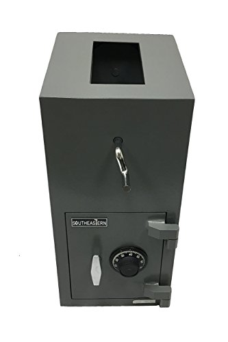 SOUTHEASTERN Top Loading Drop Depository Safe Box with Group 2 UL listed Combination Lock