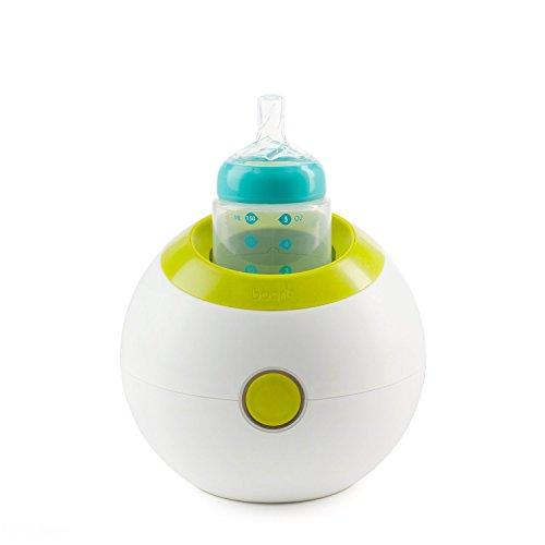 Bpa-Free, Sphere-Shaped Bottle Warmer in Green