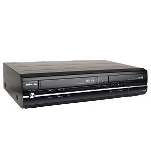 Toshiba D-KVR20 1080p Upconversion Progressive Scan DVD±RW/VHS Combo Recorder w/HDMI (Black) by Toshiba