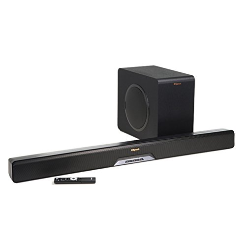 Klipsch RSB-14 Sound Bar with Wireless Subwoofer with Play Fi by Klipsch