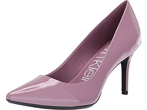 Calvin Klein Women's Gayle Pump Amethyst Patent 8 M US