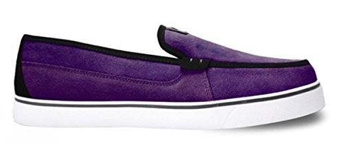 Adio Skateboard Slipper Schuhe Thurston Purple/Black - Slip On - Slip Ons