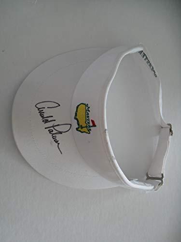 Arnold Palmer autographed/Signed Masters Hat/Visor COA