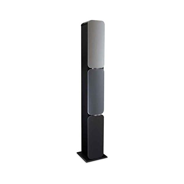 Metronic 477092 Colonne Bluetooth Nuances de Grey 240 W avec USB Play & Charge / Radio FM / Réglage des basses 1