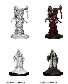 (Dungeons & Dragons Nolzur`s Marvelous Unpainted Miniatures: Green Hag & Night Hag)