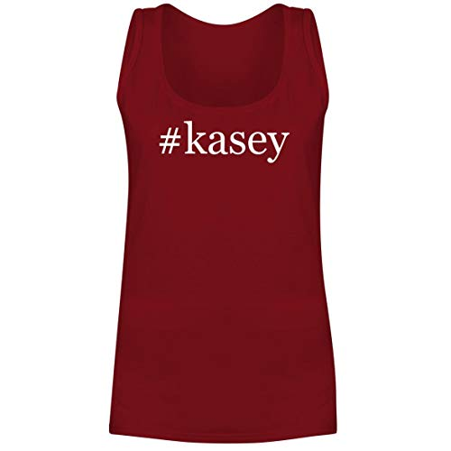 #Kasey - A Soft & Comfortable Hashtag Women's Tank Top, Red, XX-Large