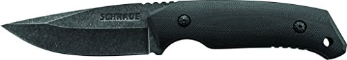 Schrade SCHF13 Full Tang Drop Point Fixed Blade G-10 Handle