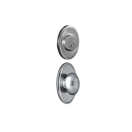 Weslock 2740J 2771 Single Cylinder Keyed Entry Julienne Door Knob Set And  2771 D,