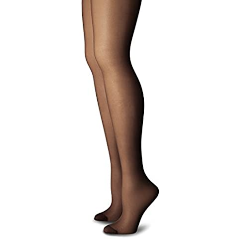 - 31QcKn5obQL - Just My Size Women's Plus Size Smooth Finish Regular Reinforced Toe Panty Hose (1-3x) Eco