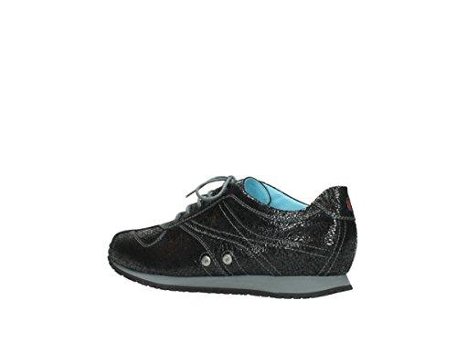 Wolky Leder Sneakers Comfort ibrox craquelé Wolky anthrazit 900 Comfort 3 RfnPSa7