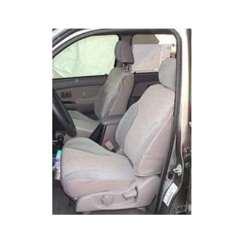 2003 2004 Mercury Mountaineer Driver Side Bottom Leather Seat Cover 2-Tone Tan