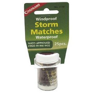 Coghlan's Windproof Storm Matches - one pack (25 pcs.)