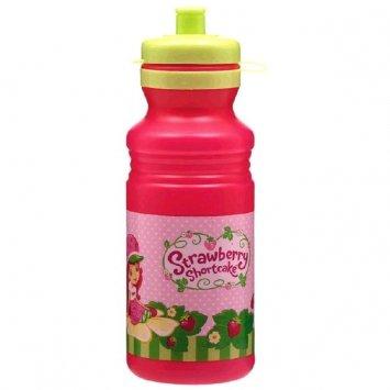 - StrawBerry Shortcake 18 Oz. Plastic Drink Bottle with LID