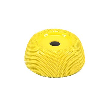 2'' Power Carving Cup Rasp CR250 Yellow fine Adapter included 1/4'' shaft