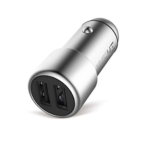 Corporation Major Accent - ZMI 36W Fast Dual USB Car Charger, PowerCruise C2, Compatible with iPhone X/XS/XS Max/XR/8/7/6s/Plus, iPad Pro/Air 2/Mini, Galaxy S10/S9/S8/S7/S6/Edge/Plus, LG and Moto (Phone Cords Not Included)