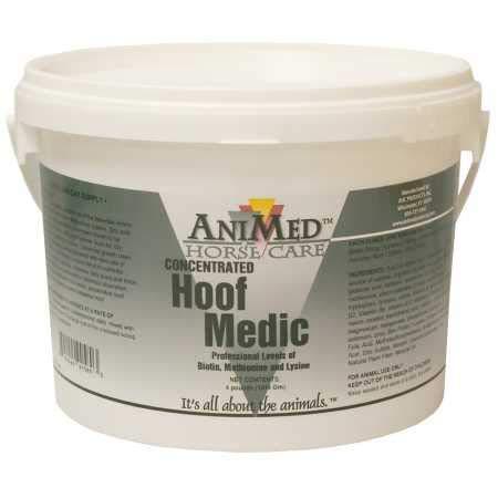 AniMed Hoof Medic Hoof Supplement for Horses, 4-Pound by AniMed