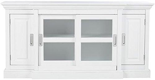 Home Decorators Collection Lexington Tv Stand, 30'' Hx60 Wx18 D, White by Home Decorators Collection