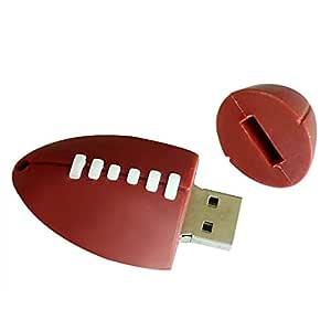 MoGist - Memoria USB con Forma de balón de fútbol, Braun-32gb, 32 ...