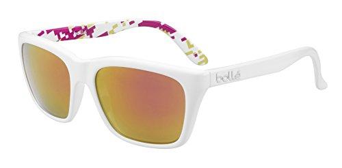 Bolle 527 Sunglasses, Shiny White/Camo Rose Gold