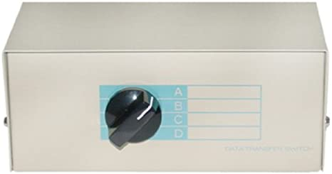 DB25 Female CNE42005 ABCD 4 Way Switch Box