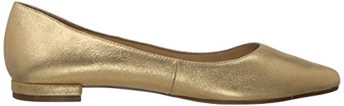 Aerosoles Womens Hey Girl Ballet Flat Gold Leather ezbDzDtS