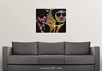 Amazon.com: CANVAS ON DEMAND Dean Russo Wall Peel Wall Art ...