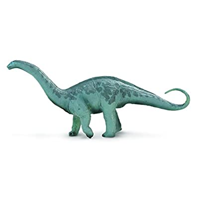 Safari Ltd Great Dinos – Apatosaurus – Realistic Hand Painted Toy Figurine Model – Quality Construction from Safe and BPA Free Materials – For Ages 3 and Up - Large: Toys & Games