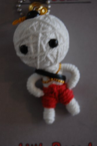 Cute Voodoo Doll Costumes (Watchover Voodoo LITTLE RASCAL Doll Keychain)