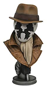 DIAMOND SELECT TOYS Legends in 3-Dimensions: Watchmen Movie Rorschach Half-Scale Bust
