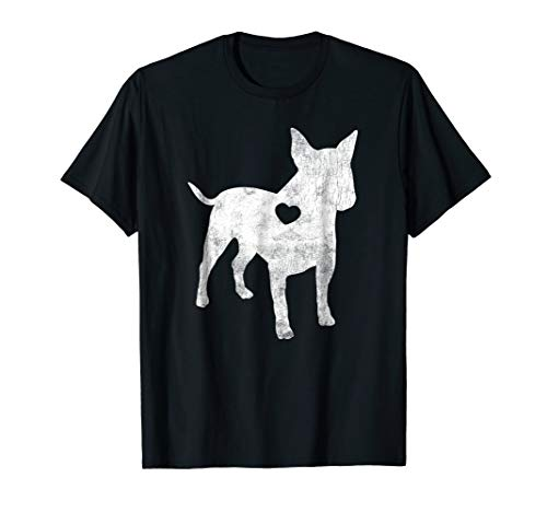 Bull Terrier Shirt I Love My Bull Terrier Dog Owner Lover