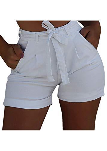 hositor Jean Shorts, New Ladies Summer Short Jeans Denim Female Pockets Wash Denim Shorts