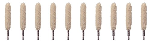 - MILITARIA .9mm-.357-.38-.380 Cotton Bore Mop, (Pack of 10)
