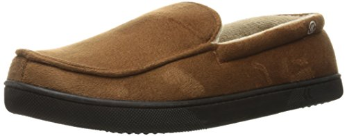 Isotoner Men's Microsuede Moccasin Slippers