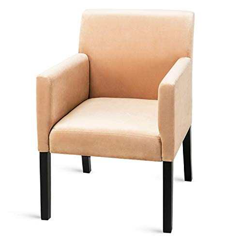 Chippendale Arm Chair Finish - Unik lways Fabric Accent Chair Stylish Morden Dining Chair Kitchen Bedroom Armchair