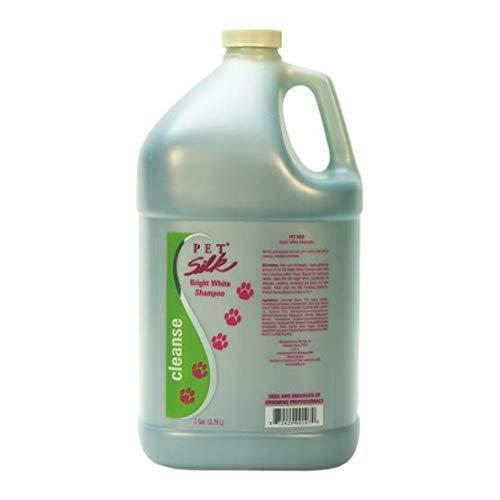 Pet Silk Bright White Shampoo (1 Gallon)