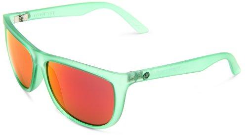 Electric Visual Tonette Round Sunglasses,Apple Green Frame/Grey, Fire & Chrome Lens,One - Sunglasses Apple