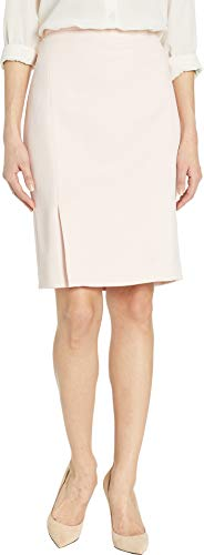 - Calvin Klein Women's Twill Pleated Skirt Rose/White 8