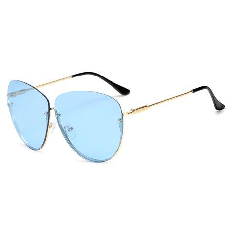 Unas KLXEB Uv400 Espejo Sol De Enormes Sol Gafas Hombres Verde Rosa Blau Mujer Femi Nino Reborde Sol De Gafas De Oculos qrrBwXf4