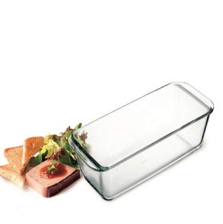 Simax Glassware Classic Loaf Dish | Heat, Cold and Shock-Proof Borosilicate Glass, Made in Europe, Dishwasher Safe, 11