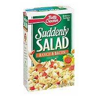 Betty Crocker Suddenly Pasta Salad, Pasta Dinner Kit - Ranch & Bacon - 7.5 oz