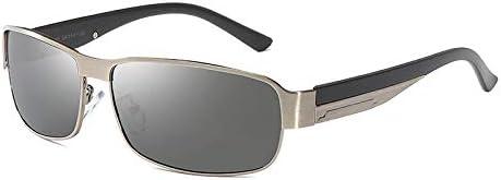 wwttoo Sonnenbrille mit polarisierten Gläsern Tag und Nacht Fahrer-Sonnenbrille Outdoor-Reiten Angel-Sonnenbrille