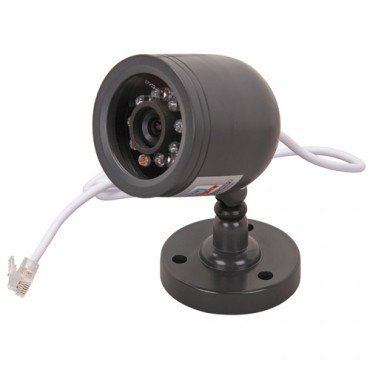 Weatherproof Color Security Camera with Night Vision Weatherproof Color Video Security Camera