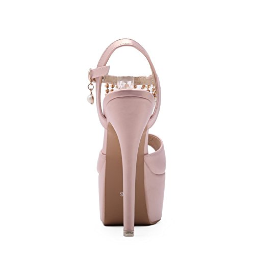 1TO9 Womens Non-Marking Oversized Cold Lining Urethane Sandals MJS03300 Pink uNq0q65lIM