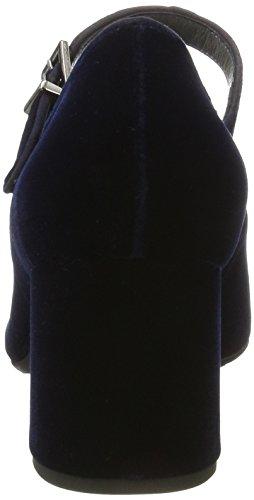 Fermé Bout Velvo Navy Suede Carrih 842 Femme Escarpins Kaiser Bleu Peter O1nIWqTx4
