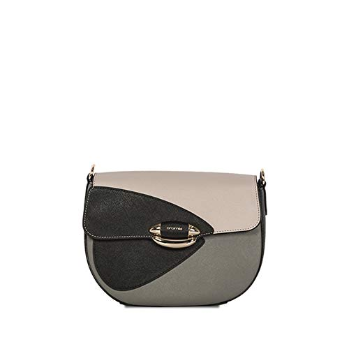Cromia Italian Made Color Block Calf Leather Crossbody for sale  Delivered anywhere in USA