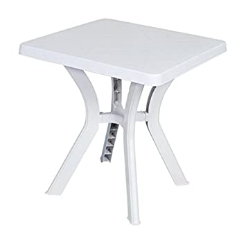 Stunning table de jardin plastique carree photos awesome for Table 70x70 extensible