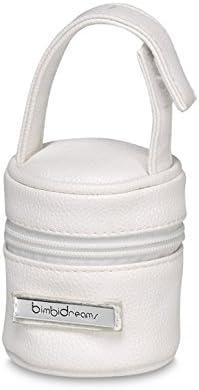 unisex Bimbi 29790101 color Blanco Porta chupetes